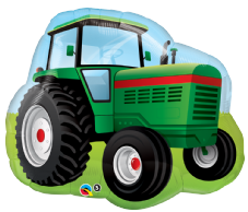 Farm Tractor Super Shape Foil Balloon